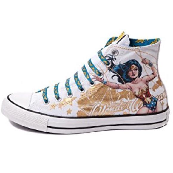 c0e87b586270 Converse Shoes - Converse Wonder Woman Chuck Taylor Hi Toos